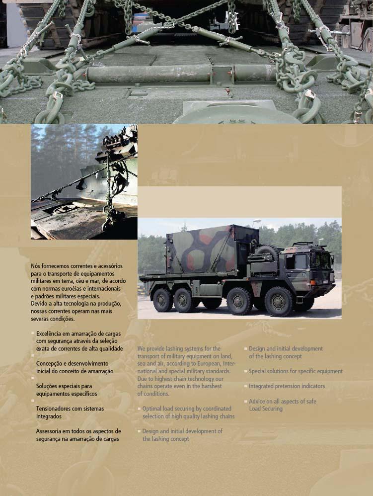 Tecnologia Militar - Amarração de cargas 2'